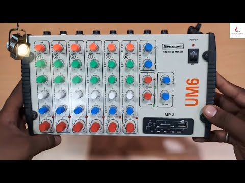 STRANGER SM6/UM6 6-channel Stereo Echo Audio Mixer|Unboxing Hindi|2018|Musical Unbox