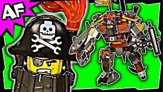 Lego Movie Metalbeard's Duel 70807 Stop Motion Build Review