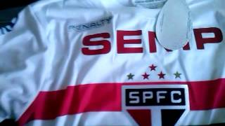 Unboxing camisa do sao paulo aliexpress