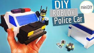 DIY Miniatur Roblox Spielzeug Jailbreak Polizei Auto Set