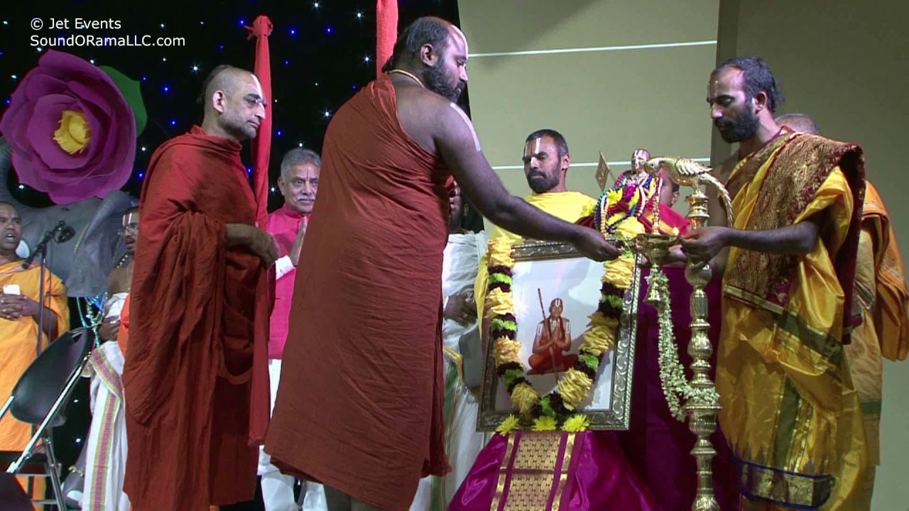Jyoti Prajwalanam by HH Chinna Jeeyar Swamiji and HH Ahobila Swamiji at Sashtipoorthi Celebrations.