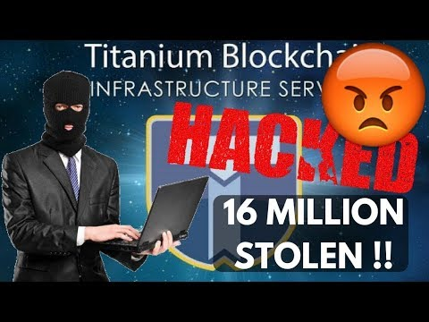 Titanium Blockchain (BAR) -HACKED-16 MILLION STOLEN!