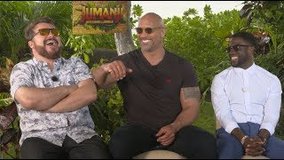 JUMANJI WELCOMES ME to the JUNGLE (FT. THE ROCK, KEVIN HART AND JACK BLACK)