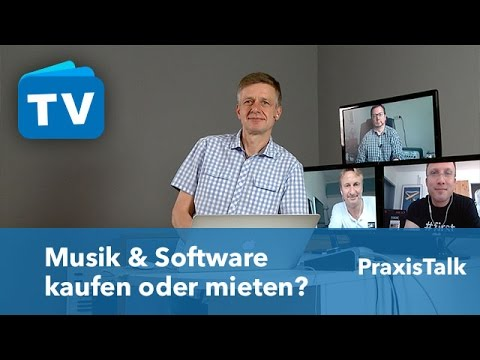 Musik & Software kaufen oder mieten?