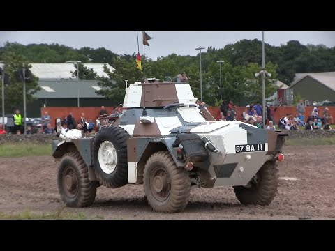 Ferret Armoured Scout Car.