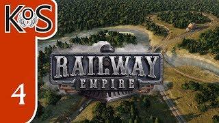 Railway Empire Ep 4: Campaign Ch 2 BUILDING BALTIMORE BIG - Let