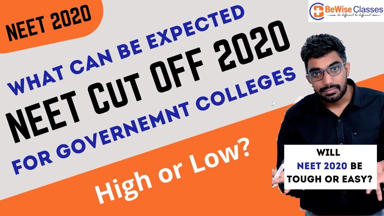 What can be NEET cut off 2020? Will NEET 2020 be Tough? NEET 2020 Updates New Exam Date by Sunil Sir