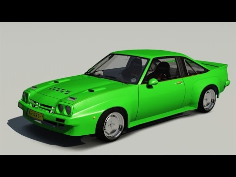 assetto corsa tuning mods opel manta new kids youtube. Black Bedroom Furniture Sets. Home Design Ideas