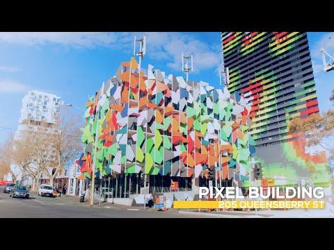 2015 Melbourne City Architecture in 4k