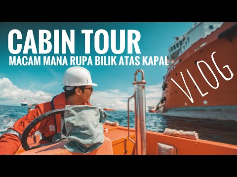 Vlog #05 - My Cabin Tour || Offshore Support Vessel