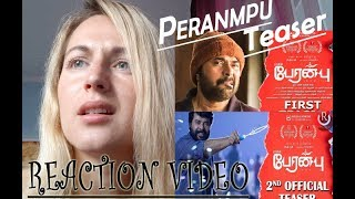 Download Video Peranbu Trailer Reaction By Blonde Girl | Mammootty MP3 3GP MP4