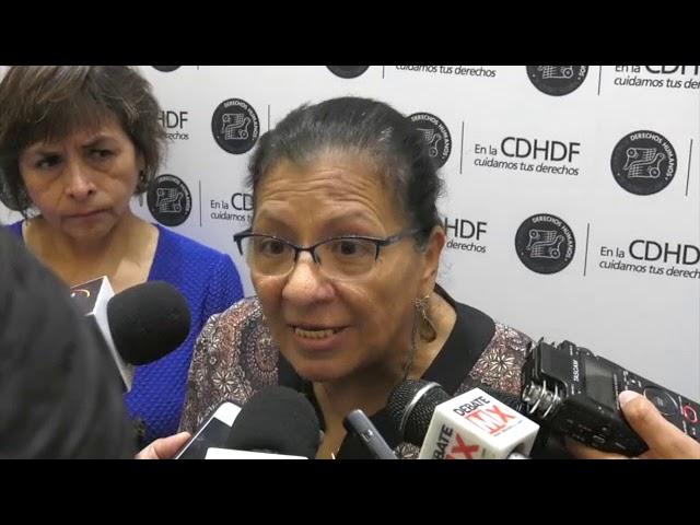 Entrevista a la Presidenta de la CDHDF, Nashieli Ramírez Hernández