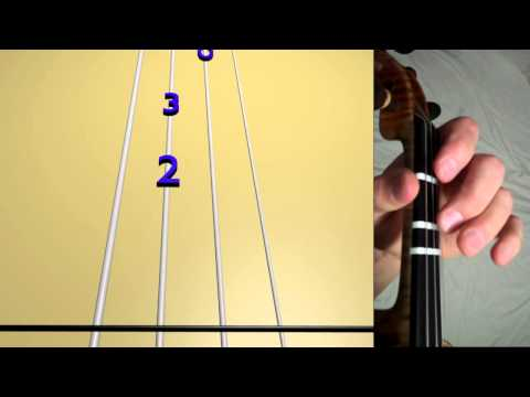 Learn Frère Jacques on Violin - How to Play Tutorial