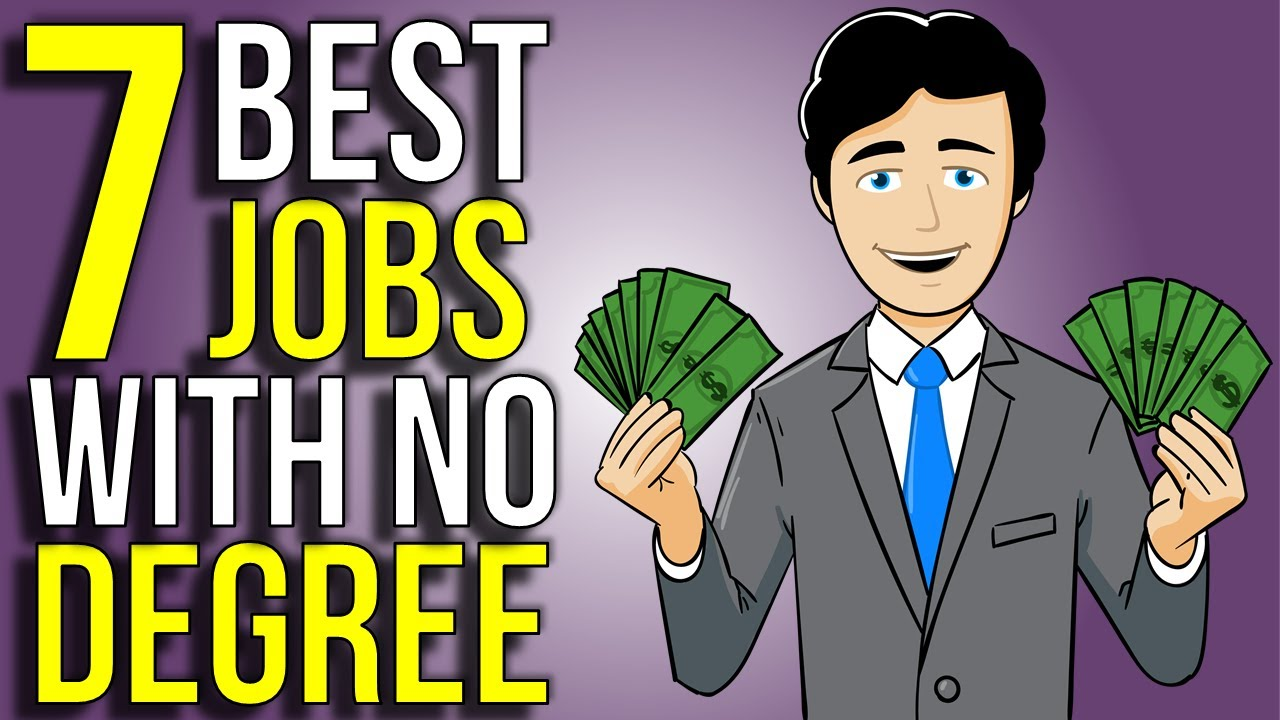 7 Highest Paying Jobs Without A College Degree | Best Jobs Little To No College