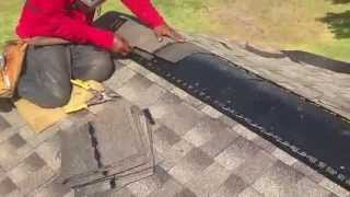How to install Ridge Vents - Texan Roofing  (281) 391-9600