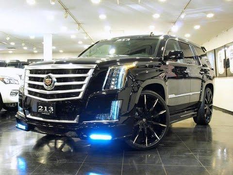 Custom Cadillac Escalades on Lexani Wheels Next Nation Body Kits