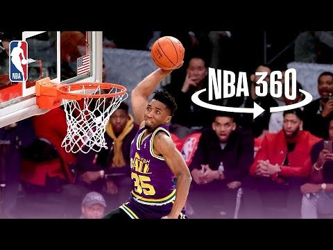 NBA 360: Donovan Mitchell Jumps Over Kevin Hart, Hendrix Hart, and Jordan Mitchell