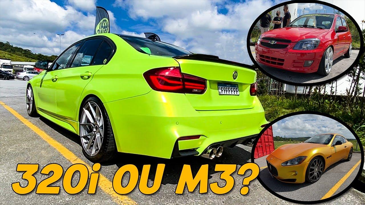 PRIMEIRO VÍDEO 2021! MASERATI DE OURO? BMW 320i KIT FULL M3