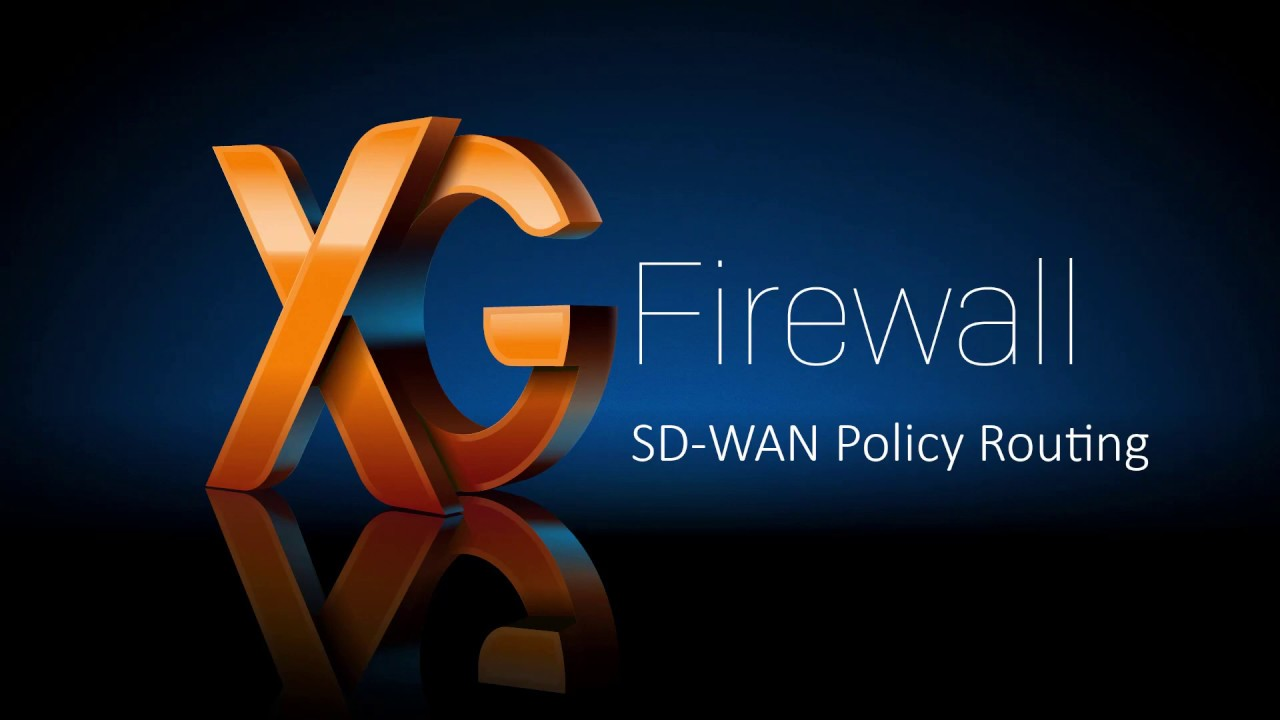 SD-WAN Firewall Sophos