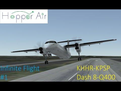 [1080p30fps]Infinite Flight #1 KHHR-KPSP