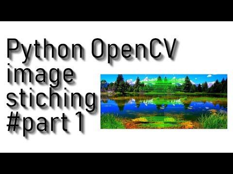 Image stitching with OpenCV and Python - PyLessons - Medium