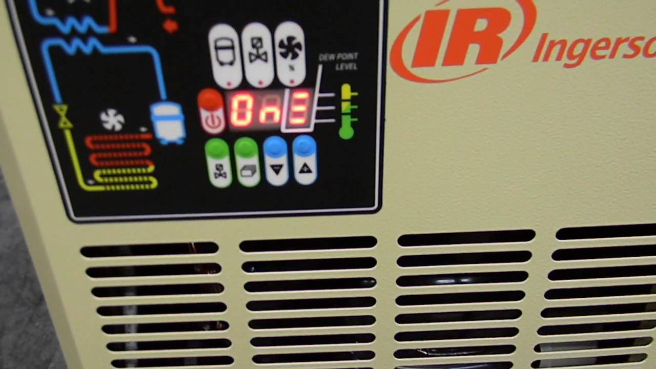 Ingersoll Rand Refrigerated Air Dryer Youtube border=