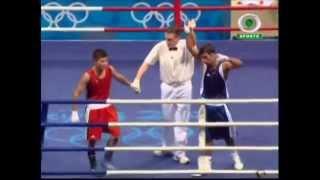 Beiging 2008 - boxing - 51 kg - jitender kumar [india] vs tulashboy doniyorov [uzb]