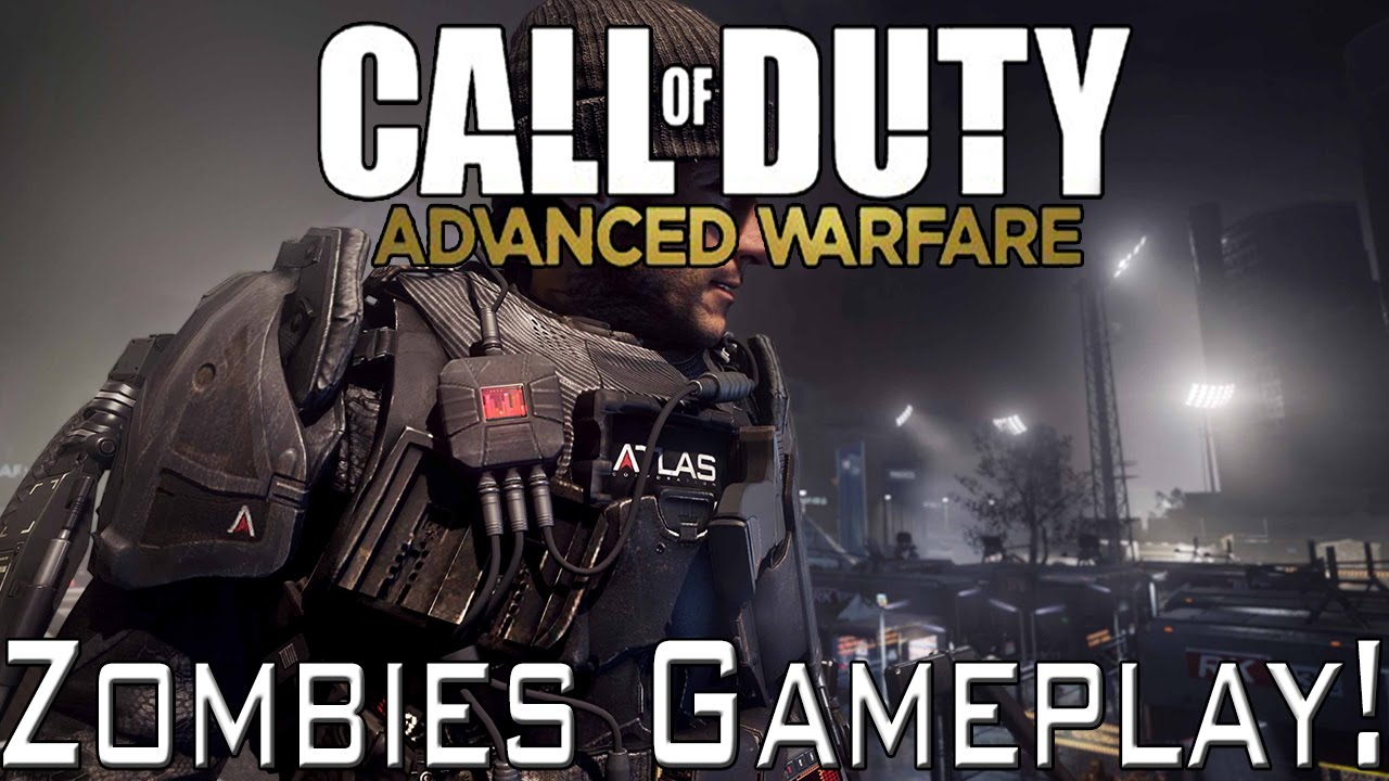 advanced warfare zombies gameplay riot exo survival