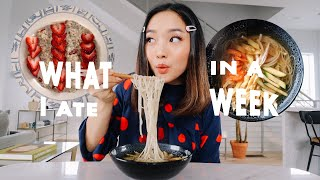What I Ate Iฑ A Week (Easy + Healthy)