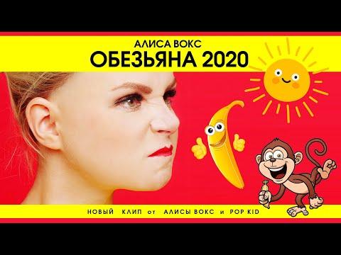 Смотреть клип Алиса Вокс Ft. Pop Kid - Обезьяна 2020