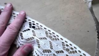 Wholesale-lot-4 Rolls White Lace Trim