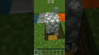 Automatic Cobble Stone Farm In Minecraft || #shorts