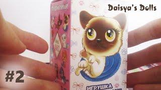 """Сюрприз из Сладкой коробочки #2 - Пушистики """"Котята"""" Sweet Box"""