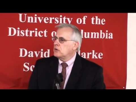 UDC Law Review 2011 Symposium: Panel 1 (Drug Policy at Home and Abroad)