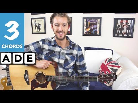 How to play Wild Thing  EASY 3 Chord Guitar Song for Beginners