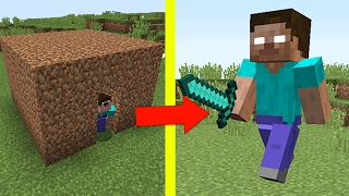 НУБ ПРОТИВ ХИРОБРИНА В МАЙНКРАФТ / ТЫ ПРО ИЛИ НУБ? ТРОЛЛИНГ MINECRAFT NOOB VS HEROBRINE