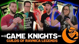 new-guilds-of-ravnica-legends-l-game-knights-21-l-magic-the-gathering-commander-edh-gameplay