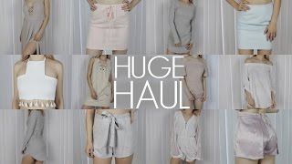 HUGE SUMMER TRY-ON HAUL | Nasty Gal, Missguided, NA-KD, Fashion Nova & More!