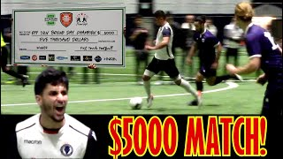 $5000 FINAL!!!  CLOBBERED INTO FETAL POSITION,  BEST ACTION - FIGHTING TO THE END FOR CASH!!!
