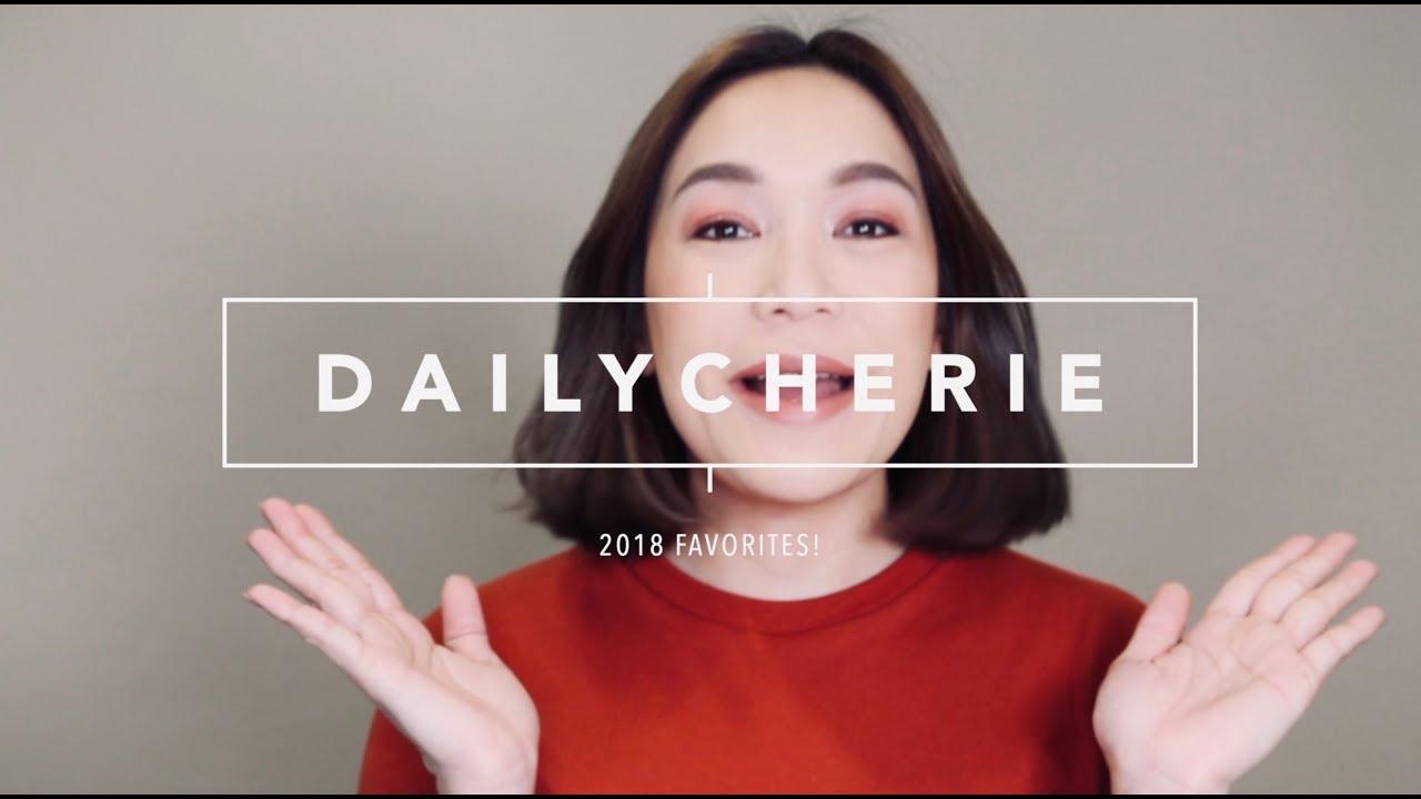 DAILYCHERIE : 2018 FAVORITES ของดีปี 2018