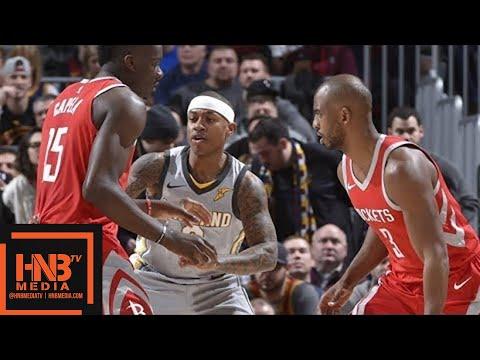 Cleveland Cavaliers vs Houston Rockets 1st Half Highlights ...