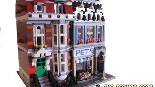 Lego Creator 10218 Pets Shop Features