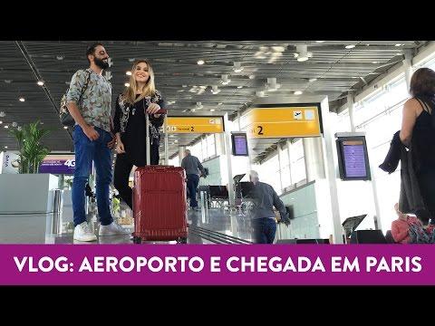 Vlog: aeroporto e chegada em Paris!