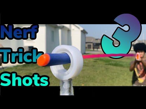 Nerf Trick Shots 3| Plenty Of Trick Shots
