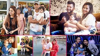 16 Star  Ndian Cricketers With Their Cute Kids   Ndian Cricketers And Their Children