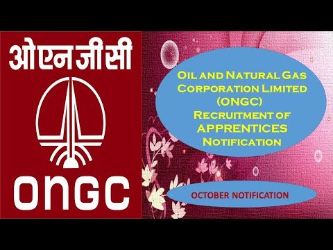 Oil and Natural Gas Corporation Limited (ONGC) Recruitment for Apprentices-Oct 17 Notification
