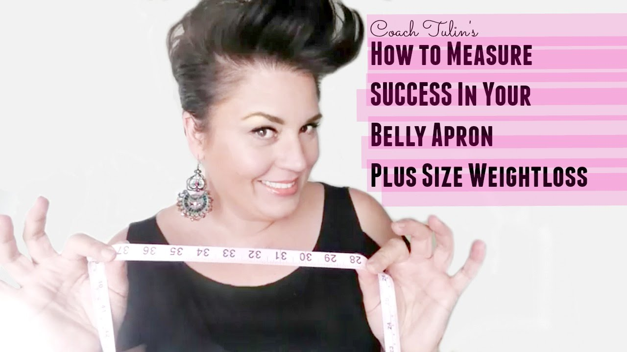 measure success in your belly apron plus size weight loss youtube