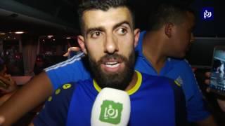 نجوم الفيصلي يتحدثون عن خسارة نهائي البطولة العربية