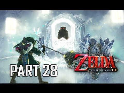 The Legend of Zelda Twilight Princess HD Walkthrough Part 28 - BOSS BLIZZETA (Hero Mode)