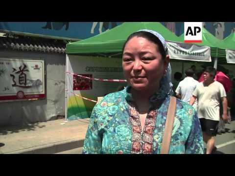 Beijing's Muslim population celebrates Eid